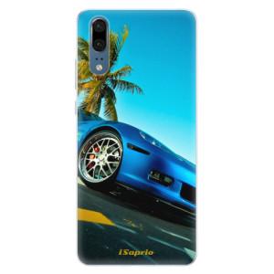 Silikonové pouzdro iSaprio (mléčně zakalené) Kára 10 na mobil Huawei P20