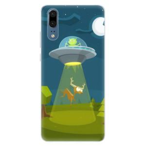 Silikonové pouzdro iSaprio (mléčně zakalené) Ufouni 01 na mobil Huawei P20