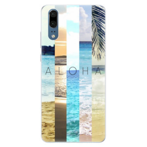 Silikonové pouzdro iSaprio (mléčně zakalené) Aloha 02 na mobil Huawei P20