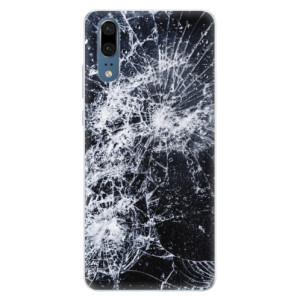 Silikonové pouzdro iSaprio (mléčně zakalené) Praskliny na mobil Huawei P20