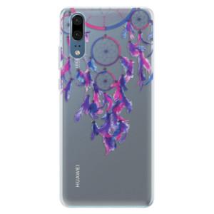 Silikonové pouzdro iSaprio (mléčně zakalené) Lapač snů 01 na mobil Huawei P20