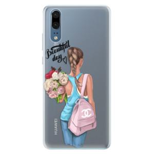 Silikonové pouzdro iSaprio (mléčně zakalené) Beautiful Day na mobil Huawei P20