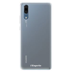 Silikonové pouzdro iSaprio 4Pure mléčné bez potisku na mobil Huawei P20