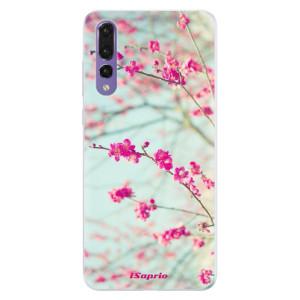 Silikonové pouzdro iSaprio (mléčně zakalené) Blossom 01 na mobil Huawei P20 Pro