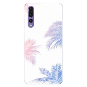 Silikonové pouzdro iSaprio (mléčně zakalené) Palmy 10 na mobil Huawei P20 Pro