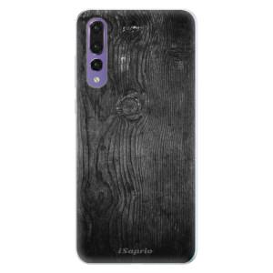 Silikonové pouzdro iSaprio (mléčně zakalené) Black Wood 13 na mobil Huawei P20 Pro
