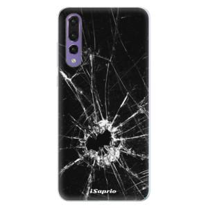Silikonové pouzdro iSaprio (mléčně zakalené) Broken Glass 10 na mobil Huawei P20 Pro