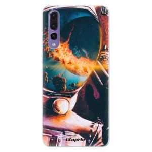 Silikonové pouzdro iSaprio (mléčně zakalené) Astronaut 01 na mobil Huawei P20 Pro
