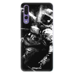 Silikonové pouzdro iSaprio (mléčně zakalené) Astronaut 02 na mobil Huawei P20 Pro