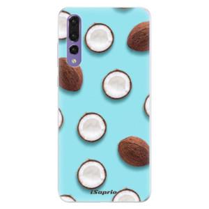 Silikonové pouzdro iSaprio (mléčně zakalené) Kokos 01 na mobil Huawei P20 Pro