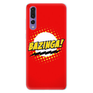 Silikonové pouzdro iSaprio (mléčně zakalené) Bazinga 01 na mobil Huawei P20 Pro