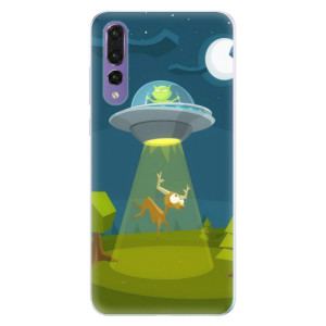 Silikonové pouzdro iSaprio (mléčně zakalené) Ufouni 01 na mobil Huawei P20 Pro