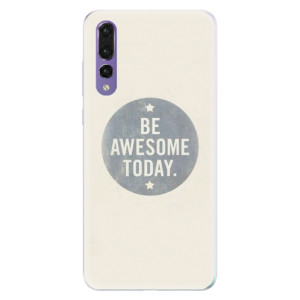 Silikonové pouzdro iSaprio (mléčně zakalené) Awesome 02 na mobil Huawei P20 Pro
