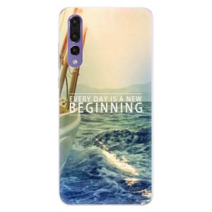 Silikonové pouzdro iSaprio (mléčně zakalené) Beginning na mobil Huawei P20 Pro