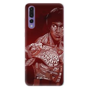 Silikonové pouzdro iSaprio (mléčně zakalené) Bruce Lee na mobil Huawei P20 Pro
