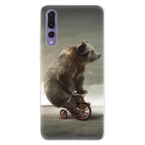 Silikonové pouzdro iSaprio (mléčně zakalené) Medvěd 01 na mobil Huawei P20 Pro
