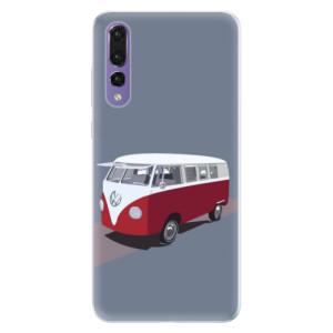 Silikonové pouzdro iSaprio (mléčně zakalené) VW Bus na mobil Huawei P20 Pro