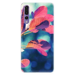 Silikonové pouzdro iSaprio (mléčně zakalené) Podzim 01 na mobil Huawei P20 Pro