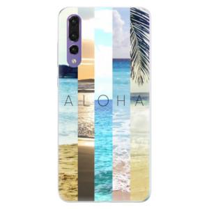 Silikonové pouzdro iSaprio (mléčně zakalené) Aloha 02 na mobil Huawei P20 Pro