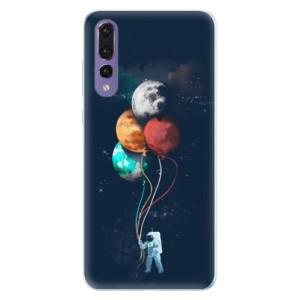 Silikonové pouzdro iSaprio (mléčně zakalené) Balónky 02 na mobil Huawei P20 Pro