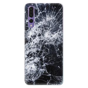 Silikonové pouzdro iSaprio (mléčně zakalené) Praskliny na mobil Huawei P20 Pro