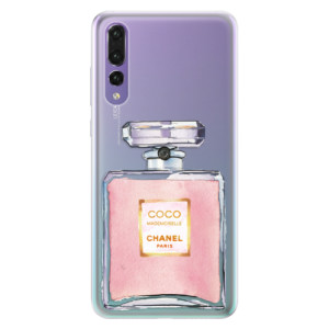 Silikonové pouzdro iSaprio (mléčně zakalené) Chanel Rose na mobil Huawei P20 Pro