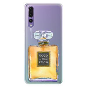 Silikonové pouzdro iSaprio (mléčně zakalené) Chanel Gold na mobil Huawei P20 Pro