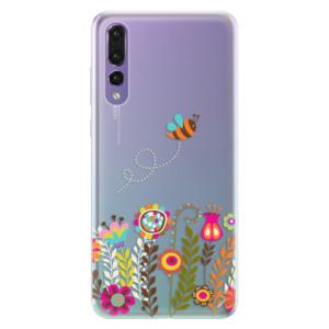 Silikonové pouzdro iSaprio (mléčně zakalené) Včelka Pája 01 na mobil Huawei P20 Pro