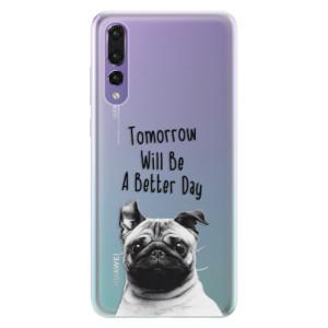 Silikonové pouzdro iSaprio (mléčně zakalené) Better Day 01 na mobil Huawei P20 Pro