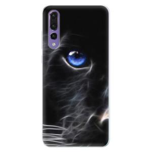 Silikonové pouzdro iSaprio (mléčně zakalené) Black Puma na mobil Huawei P20 Pro
