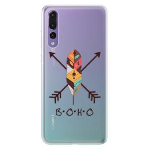 Silikonové pouzdro iSaprio (mléčně zakalené) BOHO na mobil Huawei P20 Pro
