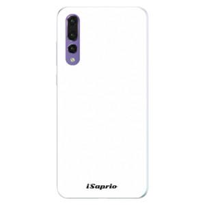Silikonové pouzdro iSaprio 4Pure bílé na mobil Huawei P20 Pro