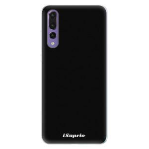Silikonové pouzdro iSaprio 4Pure černé na mobil Huawei P20 Pro