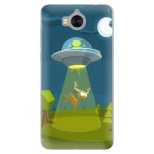 Silikonové pouzdro iSaprio (mléčně zakalené) Ufouni 01 na mobil Huawei Y5 2017 / Y6 2017