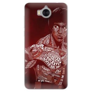 Silikonové pouzdro iSaprio (mléčně zakalené) Bruce Lee na mobil Huawei Y5 2017 / Y6 2017