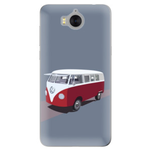 Silikonové pouzdro iSaprio (mléčně zakalené) VW Bus na mobil Huawei Y5 2017 / Y6 2017