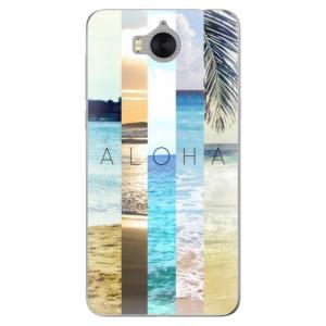 Silikonové pouzdro iSaprio (mléčně zakalené) Aloha 02 na mobil Huawei Y5 2017 / Y6 2017