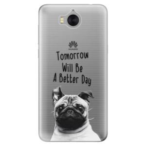 Silikonové pouzdro iSaprio (mléčně zakalené) Better Day 01 na mobil Huawei Y5 2017 / Y6 2017
