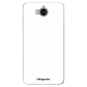 Silikonové pouzdro iSaprio 4Pure bílé na mobil Huawei Y5 2017 / Y6 2017