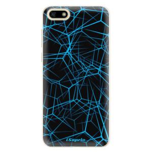 Silikonové pouzdro iSaprio (mléčně zakalené) Abstract Outlines 12 na mobil Huawei Y5 2018