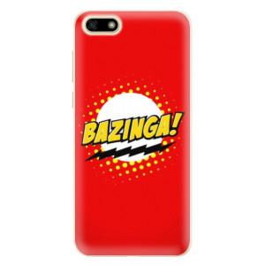 Silikonové pouzdro iSaprio (mléčně zakalené) Bazinga 01 na mobil Huawei Y5 2018