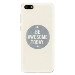 Silikonové pouzdro iSaprio (mléčně zakalené) Awesome 02 na mobil Huawei Y5 2018