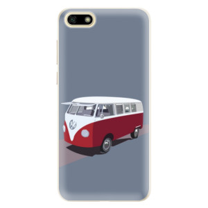 Silikonové pouzdro iSaprio (mléčně zakalené) VW Bus na mobil Huawei Y5 2018