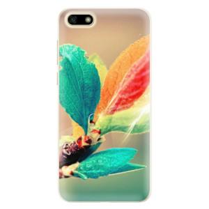 Silikonové pouzdro iSaprio (mléčně zakalené) Podzim 02 na mobil Huawei Y5 2018