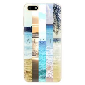 Silikonové pouzdro iSaprio (mléčně zakalené) Aloha 02 na mobil Huawei Y5 2018
