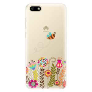 Silikonové pouzdro iSaprio (mléčně zakalené) Včelka Pája 01 na mobil Huawei Y5 2018