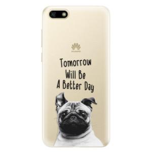 Silikonové pouzdro iSaprio (mléčně zakalené) Better Day 01 na mobil Huawei Y5 2018