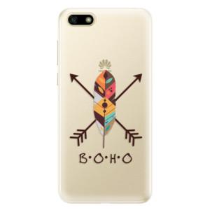 Silikonové pouzdro iSaprio (mléčně zakalené) BOHO na mobil Huawei Y5 2018