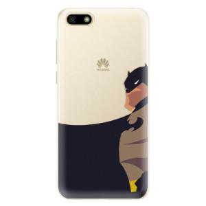 Silikonové pouzdro iSaprio (mléčně zakalené) BaT Komiks na mobil Huawei Y5 2018