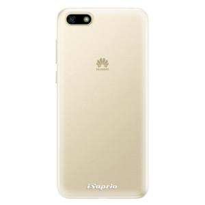 Silikonové pouzdro iSaprio 4Pure mléčné bez potisku na mobil Huawei Y5 2018